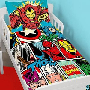 Marvel Comics – Strike Toddler Bedding