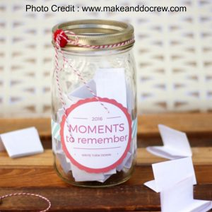 Memory Jar from Make And Do Crew
