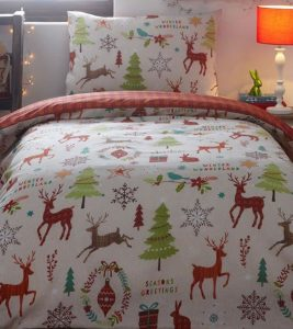 Mid Winter toddler Christmas bedding