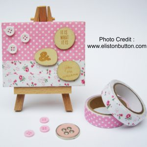 Mini Canvas from Eliston Button