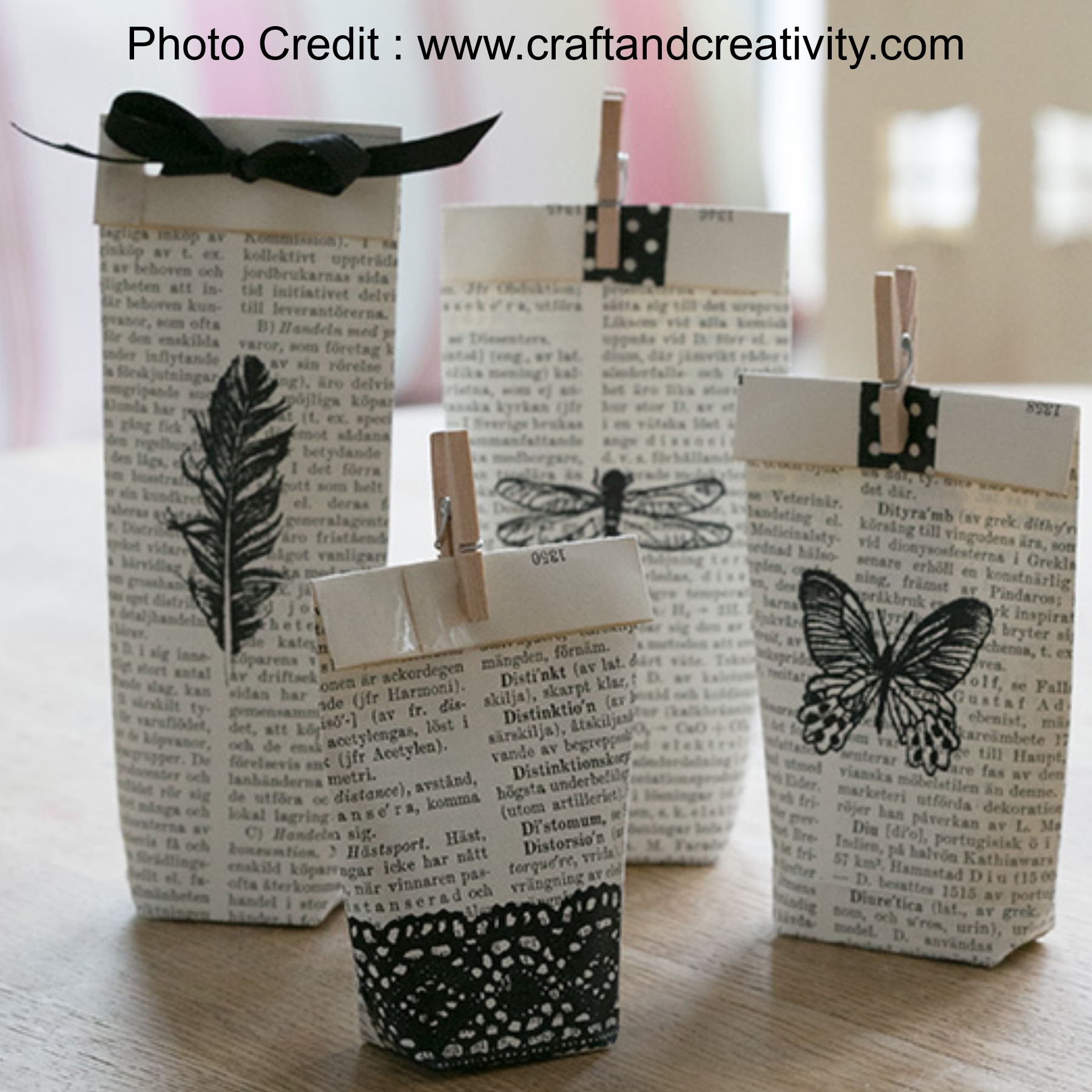 Mini Gift Bags from Craft And Creativity