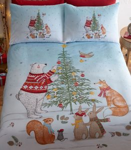 The night Before Christmas bedding