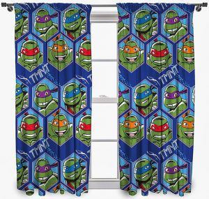 Super Hero curtains