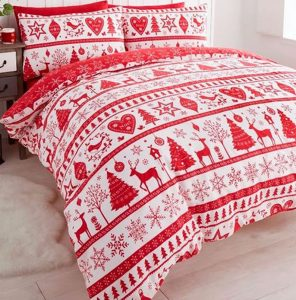Noel Christmas Themed Bedding