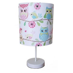 Owl And Friends bedside lamp