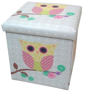 Owl storage box and seat