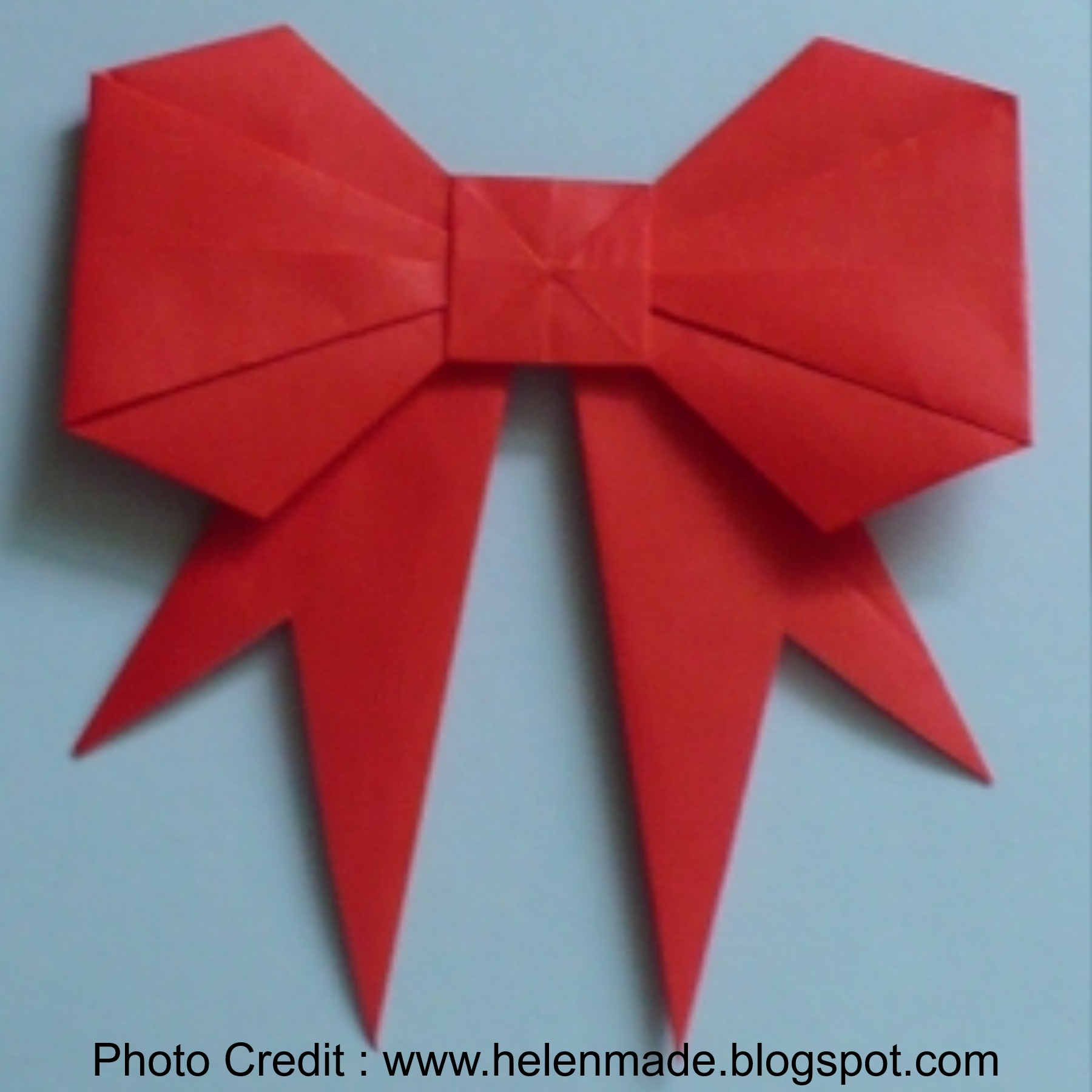 Paper Bow from Helen Made