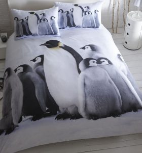 Penguin King Size Bedding