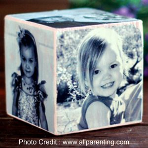 Photo Cube from All Parenting