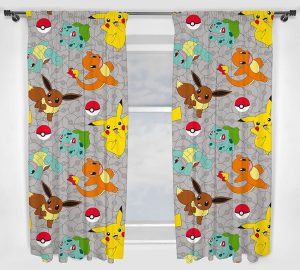 Pokémon Curtains