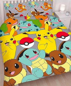 Pokemon double duvet