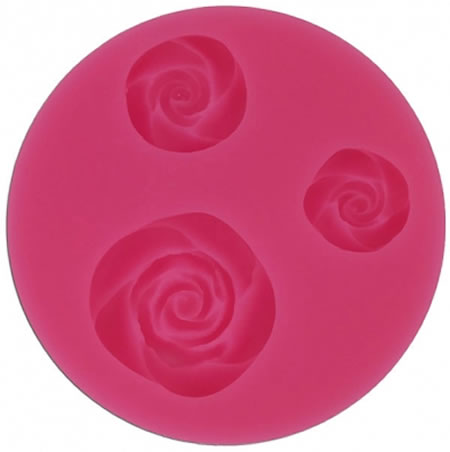 Roses Silicone Icing Mould By Blossom Sugar Art