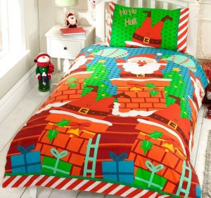 Santa's Chimney Bedding