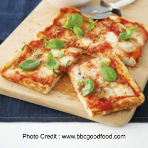 Simple Margherita Pizza from BBC Good Food