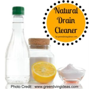 Sink Drain Cleaner from Green Living Ideas