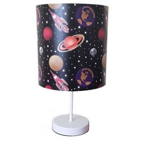 Space bedside lamp