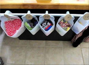 Plastic Milk Carton Storage