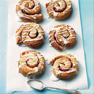 Strawberry And Coconut Swirls