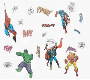 Super Hero Wall Stickers