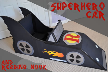 Super Hero Car
