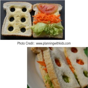 Traffic Light Sandwiches from Planning With Kids