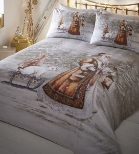 Twilight Santa Super King Size Bedding