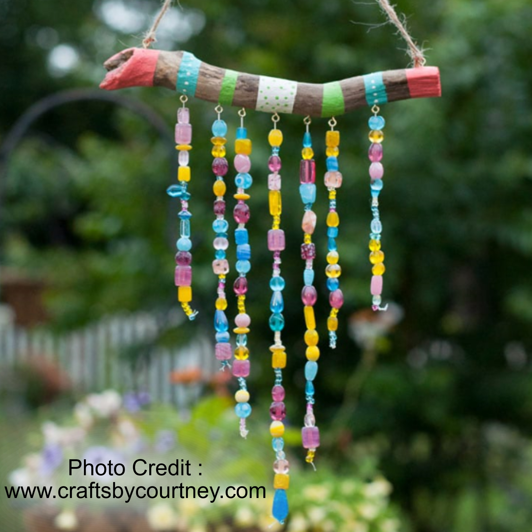 DIY Wind Chimes from Crafts By Courtney