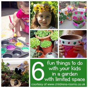 6 Fun Things To Do In A Garden With Limited Space