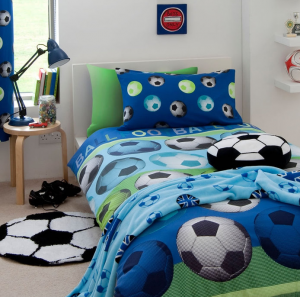 Kids bedding in a variety of themes