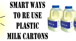 Smart Ways To Reuse Plastic Milk Cartons